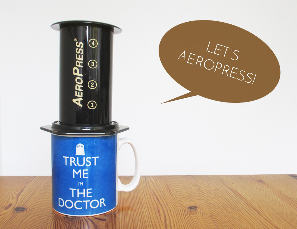 Let's play with the Aeropress
